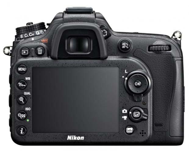 مقایسه دوربین D7100