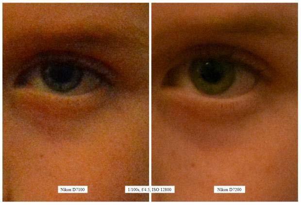 مقایسه دوربین D7200