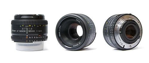 لنز نیکون AF NIKKOR 50mm f/1.8D