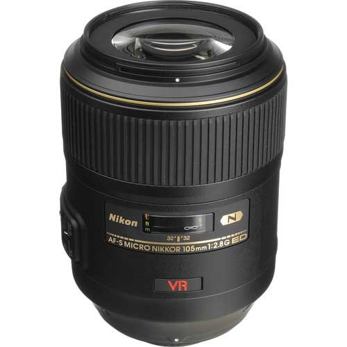 لنز نیکون AF-S VR Micro-NIKKOR 105mm f/2.8G IF-ED