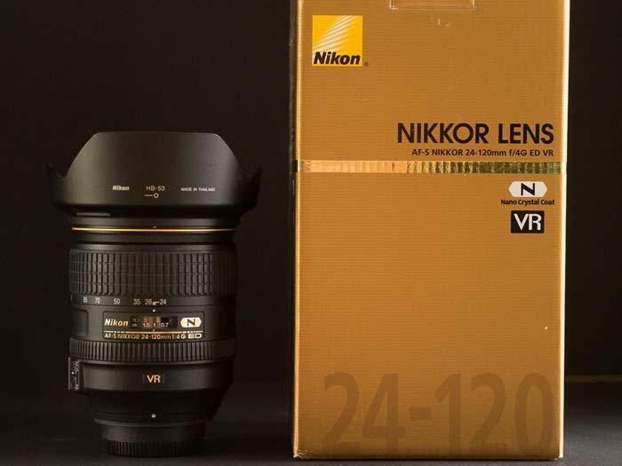 لنز نیکون AF-S NIKKOR 24-120mm