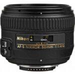 لنز نیکون AF-S NIKKOR 50mm f/1.4G