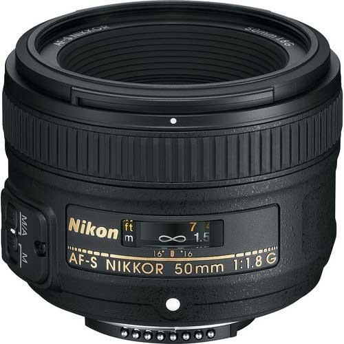 لنز نیکون AF NIKKOR 50mm f/1.8G