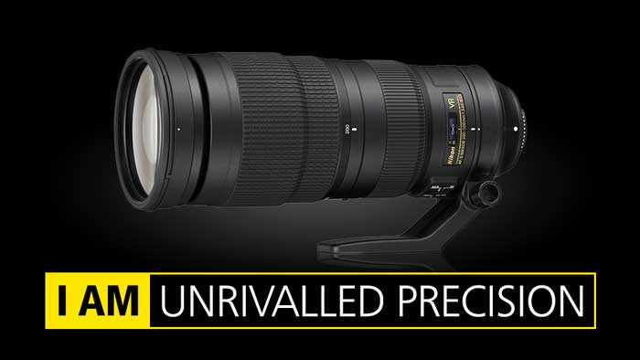 لنز نیکون AF-S NIKKOR 200-500mm f/5.6E ED VR