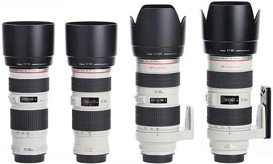 لنز کانن EF 70-200mm f/4L USM