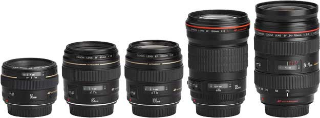 مقایسه لنز کانن EF 135mm f/2L USM