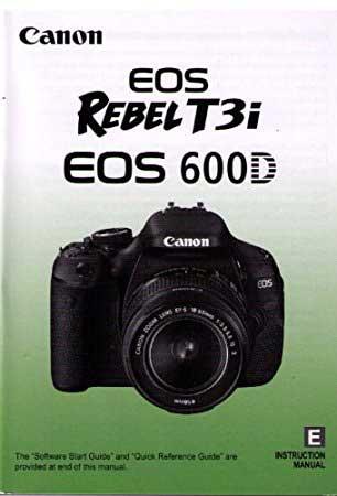 کتاب آموزش دوربین EOS 600D