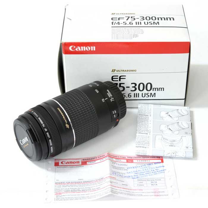 لنز کانن EF 75-300mm f/4-5.6 III USM