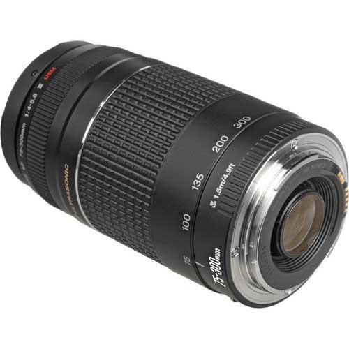 قیمت لنز EF 75-300mm