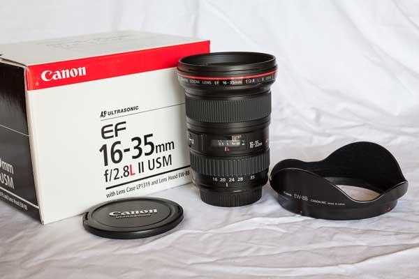 لنز کانن EF 16-35mm f/2.8L II USM