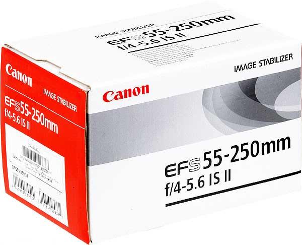 لنز کانن EF-S 55-250mm f/4-5.6 IS II