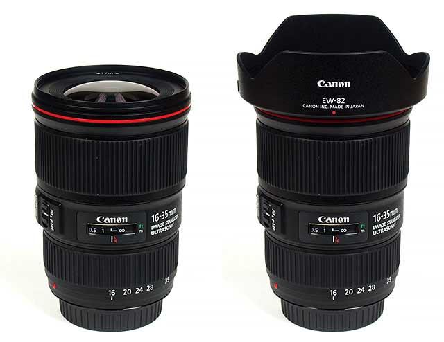 لنز کانن EF 16-35mm f/4L IS USM