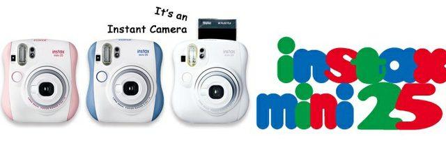 دوربین چاپ فوری مینی 25