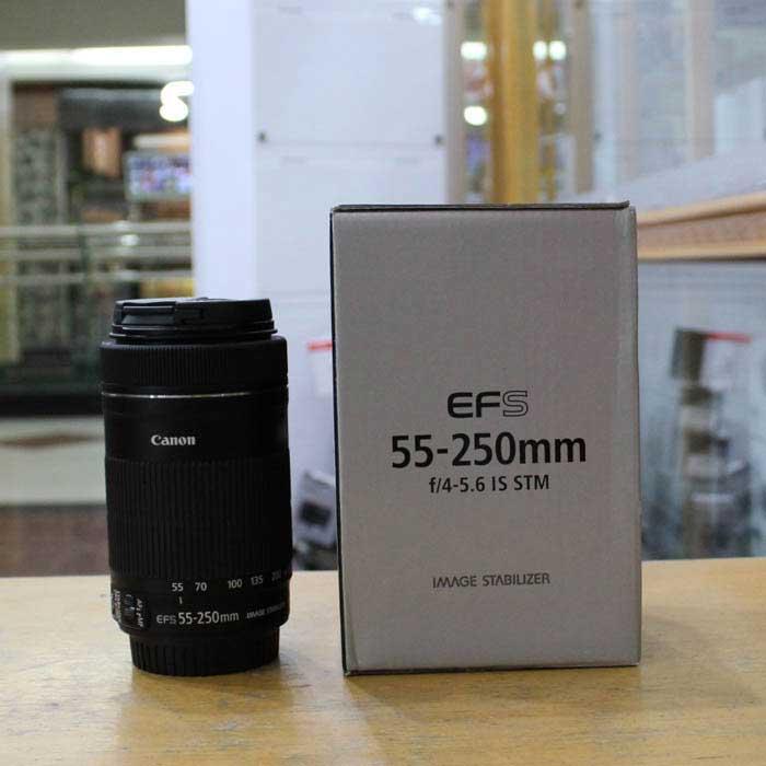 لنز کانن EF-S 55-250mm f/4-5.6 IS STM