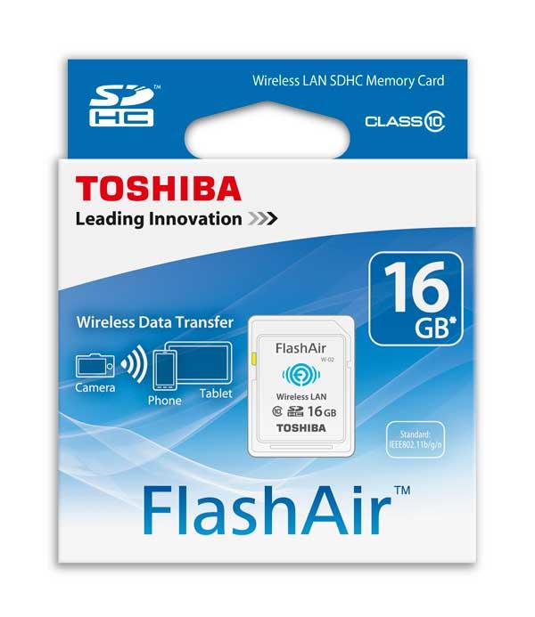 کارت حافظه بی سیم Toshiba 16GB FlashAir W-03