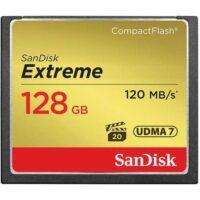 کارت حافظه سندیسک مدل SanDisk 128GB Extreme CompactFlash UDMA 7