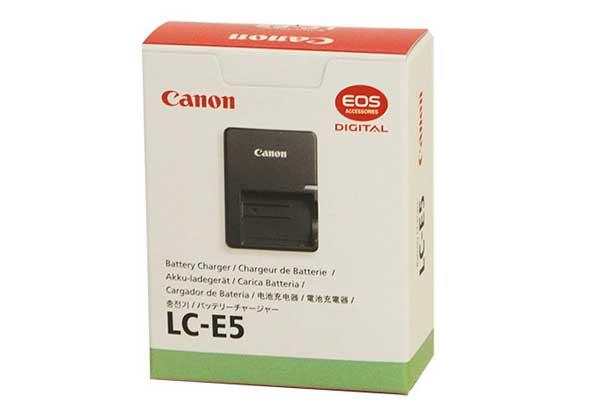 شارژر کانن LC-E5