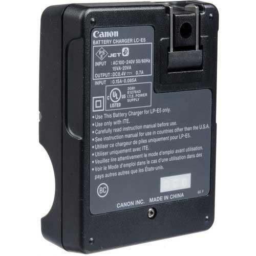 شارژر باتری لیتیومی کانن اصلی Canon LC-E5 Original