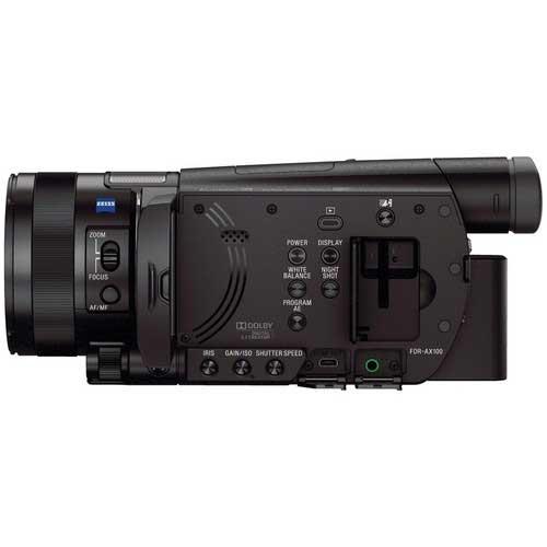 آموزش کار با دوربین AX100E
