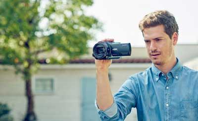 آموزش کار با دوربین AX53