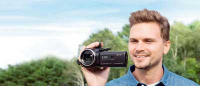 دوربین پی جی 410 سونی