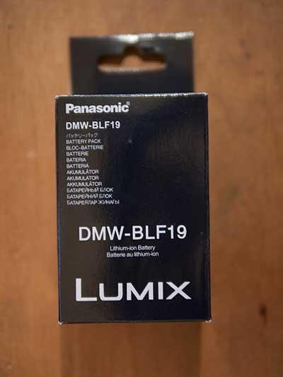 باتری لیتیومی دوربین پاناسونیک مدل DMW-BLF19