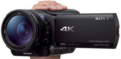 دوربین فیلمبرداری AX100E