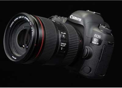 دوربین 5 دی مارک 4 با لنز 24-105 جدید