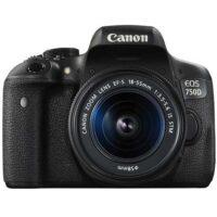 دوربین عکاسی کانن EOS 750D Kit 18-55