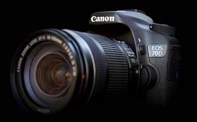 دوربین عکاسی کانن EOS 70D با لنز 18-135 STM