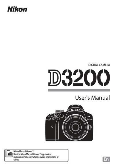 کتاب راهنمای فارسی دوربین D3200 نیکون