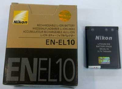 باتری لیتیومی دوربین نیکون مدل EN-EL10