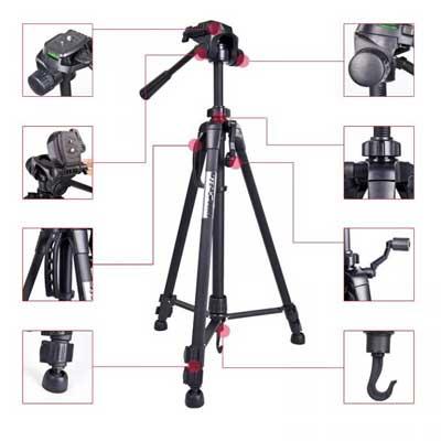سه پایه دوربین weifeng wt-3540