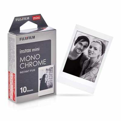فیلم مخصوص دوربین فوجی فیلم اینستکس مینی مدل Monochrome