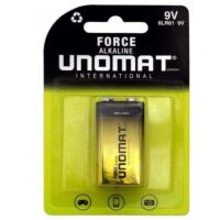 باتری ۹V یونومات Unomat Force Alkaline