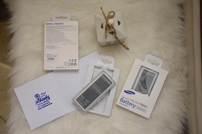 باتری موبایل مناسب برای سامسونگ گلکسی نوت ۴