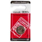باتری سکه ای مکسل مدل CR2016