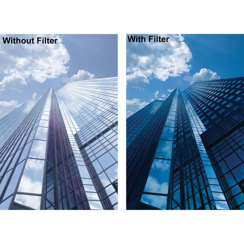 فیلتر لنز بی پلاس دبلیو مدل Slim C-POL MRC 55mm