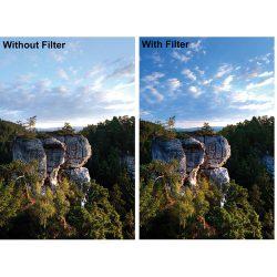 فیلتر لنز بی پلاس دبلیو مدل Slim C-POL MRC 72mm