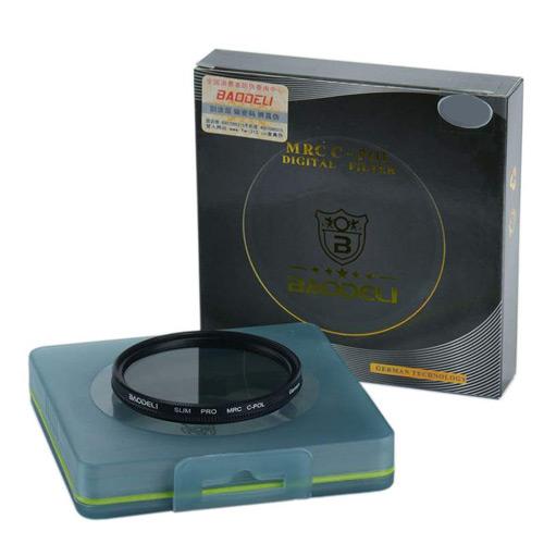فیلتر لنز پولاریزه بائودلی مدل CPL 72mm