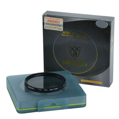 فیلتر لنز پولاریزه بائودلی مدل CPL 77mm
