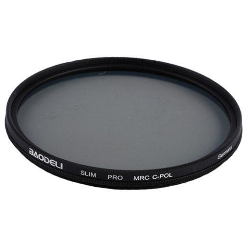 فیلتر لنز پولاریزه بائودلی مدل Baodeli CPL 77mm