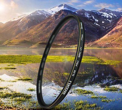 فیلتر لنز بائودلی مدل UV Slim 58mm