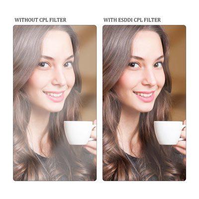 فیلتر لنز بی پلاس دبلیو مدل B+W Slim CPL MRC 49mm