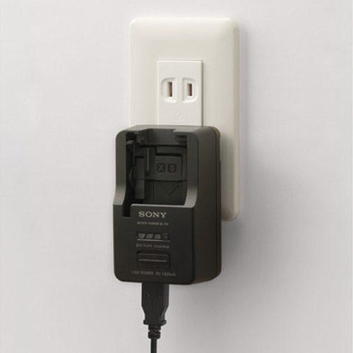 شارژر باتری لیتیومی دوربین سونی مدل BC-TRX