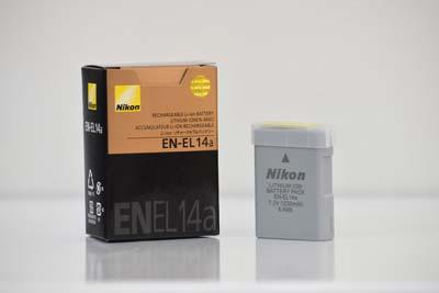 باتری لیتیومی دوربین نیکون مدل EN-EL14a