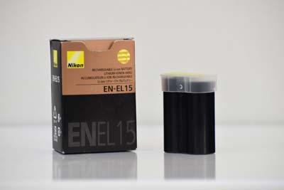 باتری لیتیومی دوربین نیکون مدل EN-EL15