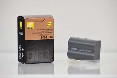 باتری لیتیومی دوربین نیکون مدل EN-EL3e