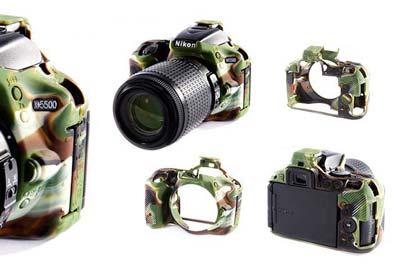 کاور سیلیکونی دوربین مناسب برای D5500 نیکون