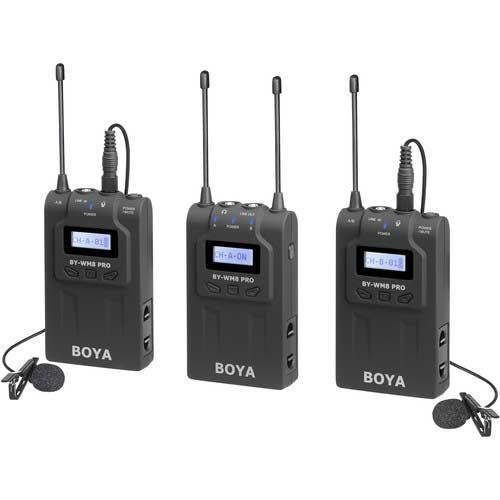 میکروفون بی سیم بویا مدل Boya BY-WM8 Pro-K2